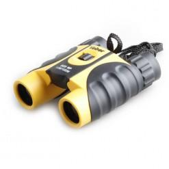 Бинокль Veber WP 8x25 черный/желтый