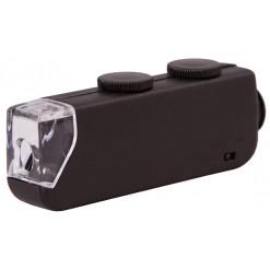 Микроскоп карманный Bresser 60x–100x со светодиодной подсветкой