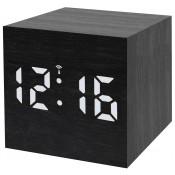 Часы настольные Bresser MyTime WAC, черные
