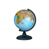 Глобус «Двойная карта» диаметром 210 мм, с подсветкой