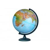 Глобус «Двойная карта» диаметром 320 мм, с подсветкой