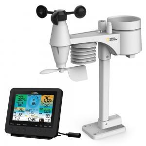 Метеостанция Bresser National Geographic «7 в 1» Wi-Fi с цветным дисплеем