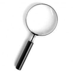 Лупа Kromatech ручная круглая 2,5х, 75 мм, в металлической оправе