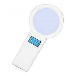Лупа Kromatech ручная круглая 10х, 70 мм, с подсветкой (10 LED) TH-7015