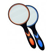 Лупа Kromatech ручная круглая 2,5х, 100 мм, с двухцветной ручкой