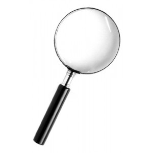 Лупа Kromatech ручная круглая 2,5х, 50 мм, в металлической оправе