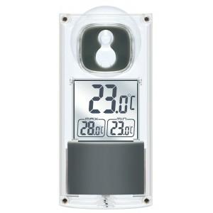 Термометр Bresser с солнечной панелью, оконный