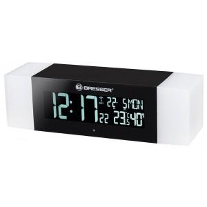 Радио с будильником и термометром Bresser MyTime Sunrise Bluetooth, черное