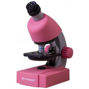 Микроскоп Bresser Junior 40–640x, розовый