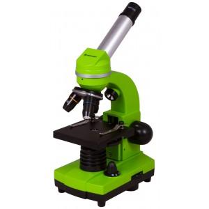 Микроскоп Bresser Junior Biolux SEL 40–1600x, зеленый
