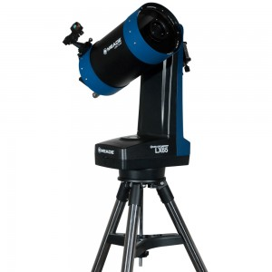 """Телескоп Meade LX65 5"""" с пультом AudioStar"""