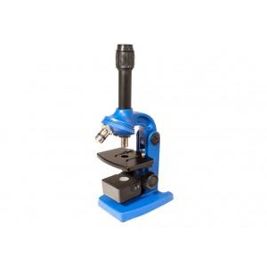 Микроскоп «Юннат 2П-1», синий, с подсветкой