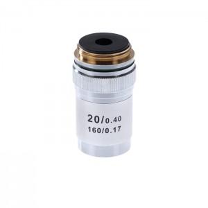 Объектив для микроскопа 20х/0,4 160/0,17 (М1)