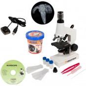 Учебный цифровой микроскоп Celestron + Эксперимент