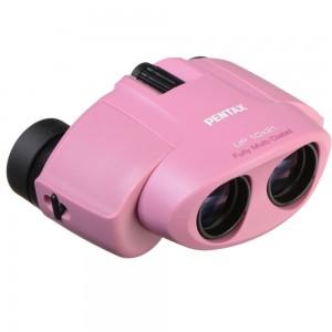 Бинокль PENTAX UP 10x21, розовый