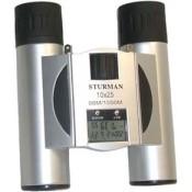 Бинокль STURMAN 10x25 с термометром