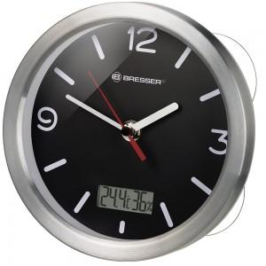 Часы Bresser MyTime Bath RC, водонепроницаемые, черные