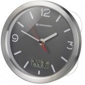 Часы Bresser MyTime Thermo/Hygro Bath, водонепроницаемые, серые